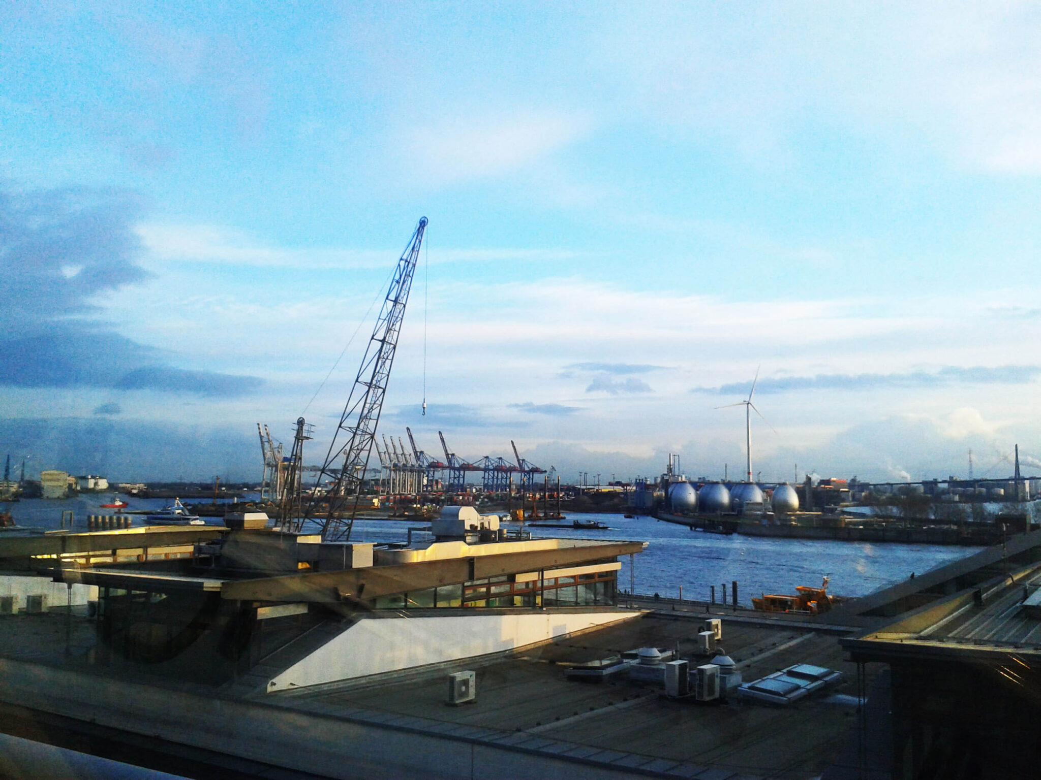 Elbe River Hamburg